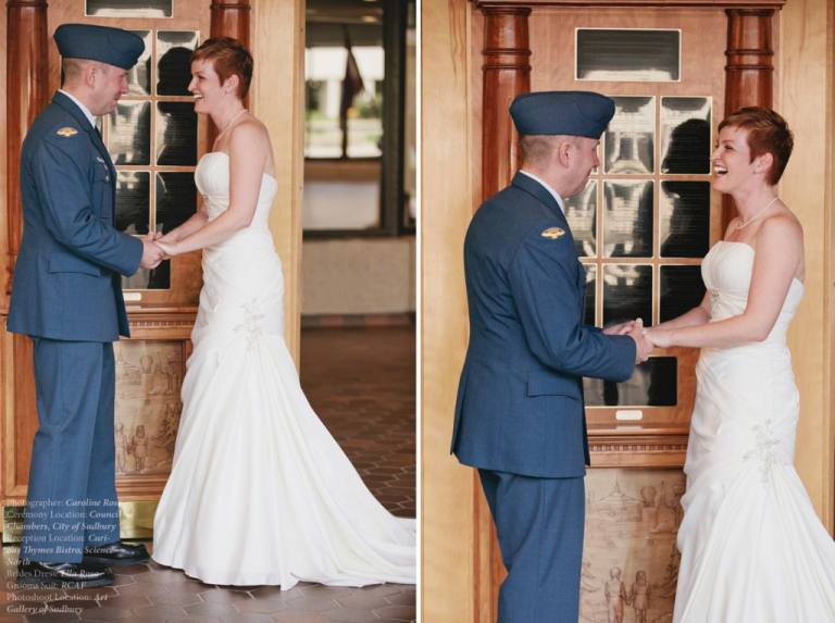 Vancouver WEdding Photographer military Town Hall Wedding
