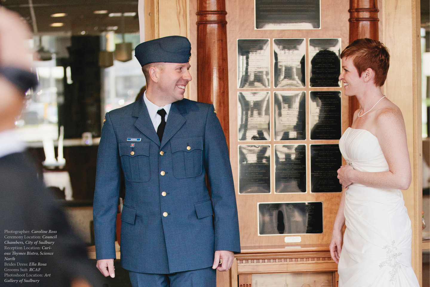 Vancouver city hall wedding