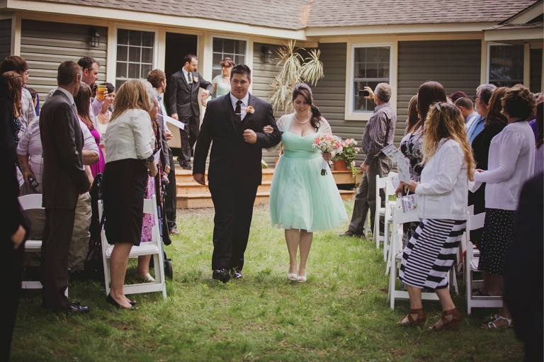 French river ontario wedding