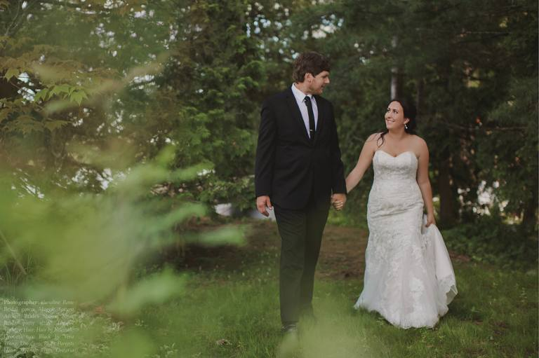 French River Northern Ontario wedding Photographer