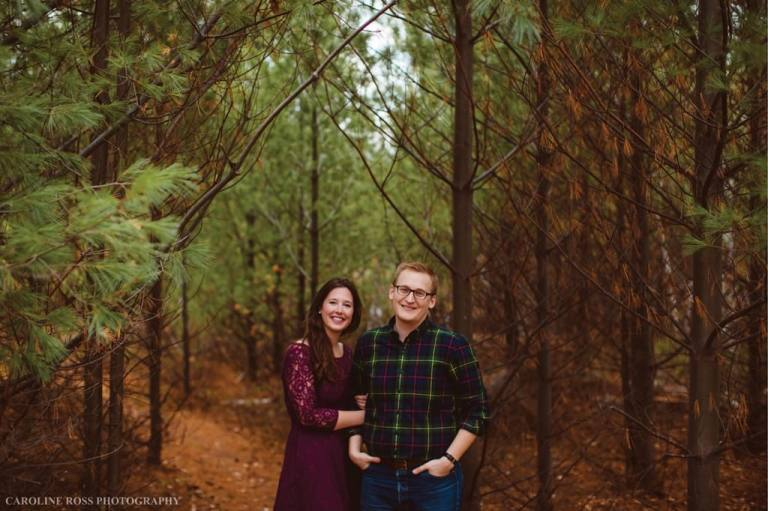 Colourful Fall Engagement