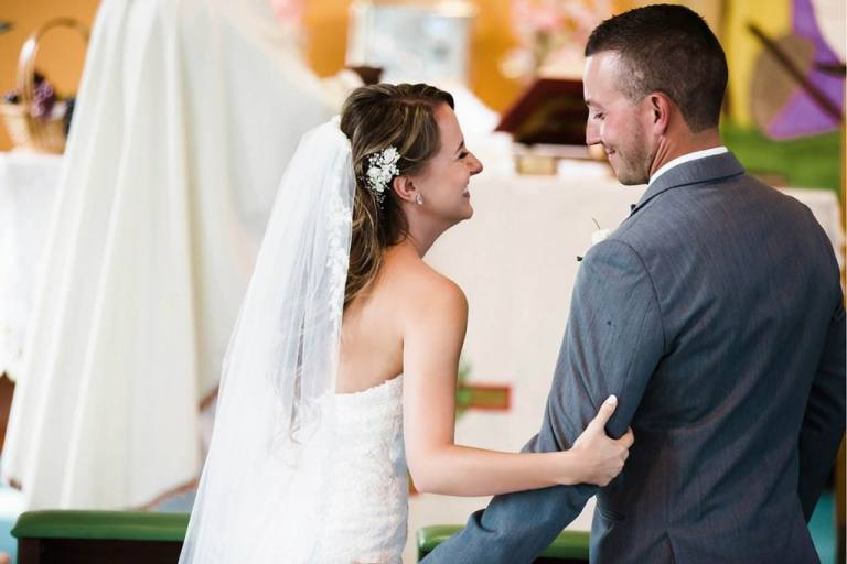 Pinewood Lodge Wedding In North Bay With Pronovias Onega