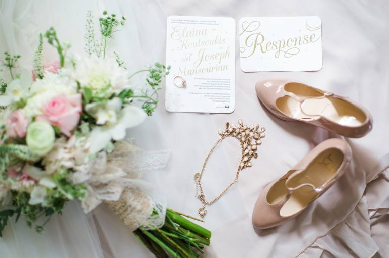 Christian Louboutins and wedding details